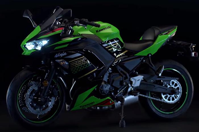 Kawasaki Ninja 650 versi 2020 punya desain mirip versi 400