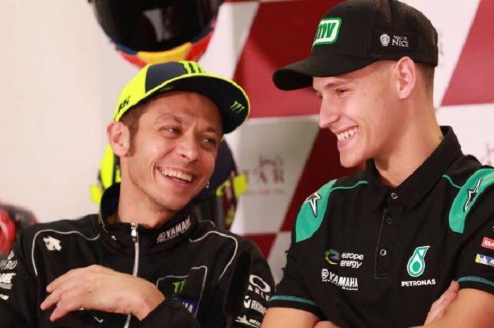 Valentino Rossi dan Fabio Quartararo.