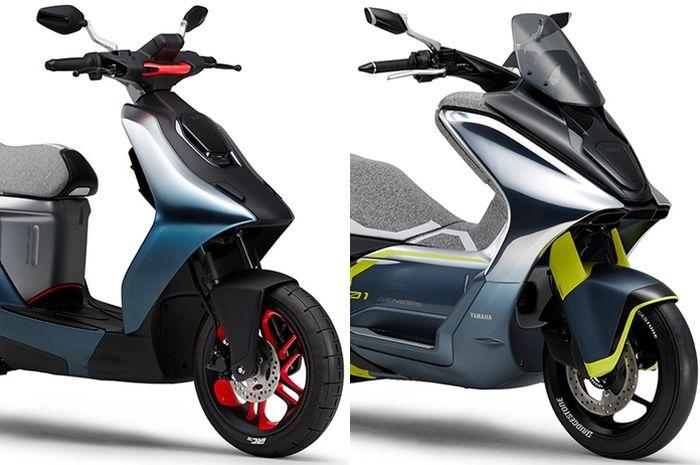 Dua motor konsep Yamaha untuk Tokyo Motor Show 2019