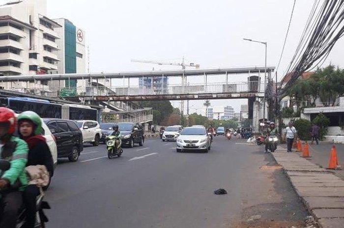 Jalan Matraman di Jakarta Timur rawan Jambret bermotor
