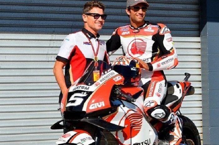 Johann Zarco resmi membela tim LCR Honda.