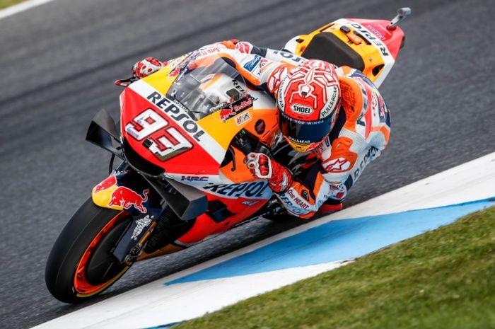Marc Marquez lagi-lagi menjadi juara MotoGP, setelah MotoGP Jepang dan MotoGP Thailand.