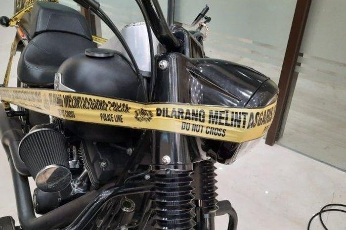 Harley-Davidson hasil BBA jadi Hecker