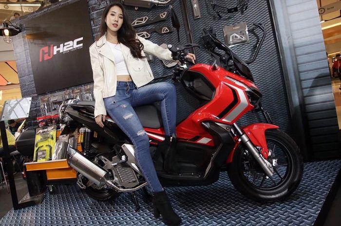Aksesoris resmi HH2C untuk Honda ADV150 di Thailand