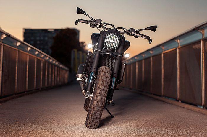 Gak nyangka, ternyata ini modifikasi Ducati ST12 hasil operasi Orcys Motorcycles.