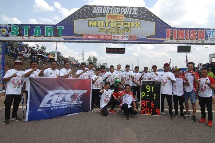 ART Kalimantan tutup Motorprix musim ini dengan sempurna.