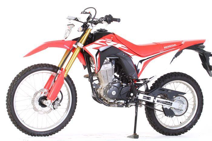 Ilustrasi Honda CRF150L.