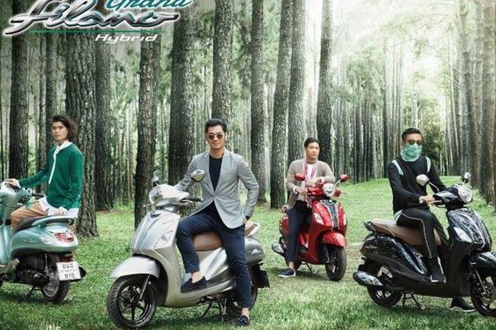 Pada 2016 Yamaha Thailand merilis Yamaha Grand Filano Hybrid, tapi gak masuk Indonesia
