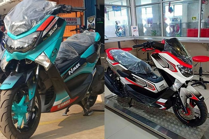 NMAX ala MotoGP yang digarap Yamaha Harapan Motor, apakah motor yang dicat ulang garansinya akan gugur?