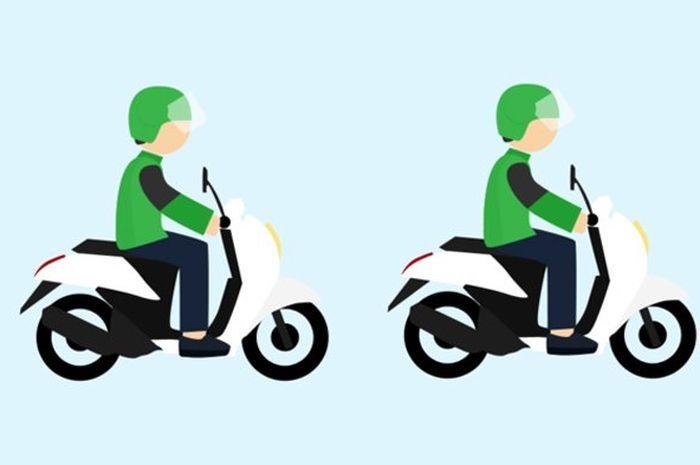 Ilustrasi ojek online. Wuih di Negara-negara Ini Driver Ojol Dapat Duit Pensiun, Gaji Bulanan dan Asuransi