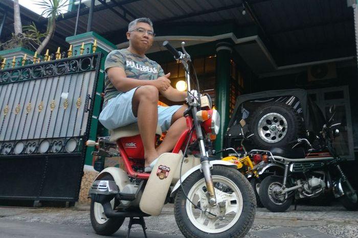 Agus Tri Nugoho sang Pemilik Yamaha Malic asal Boyolali