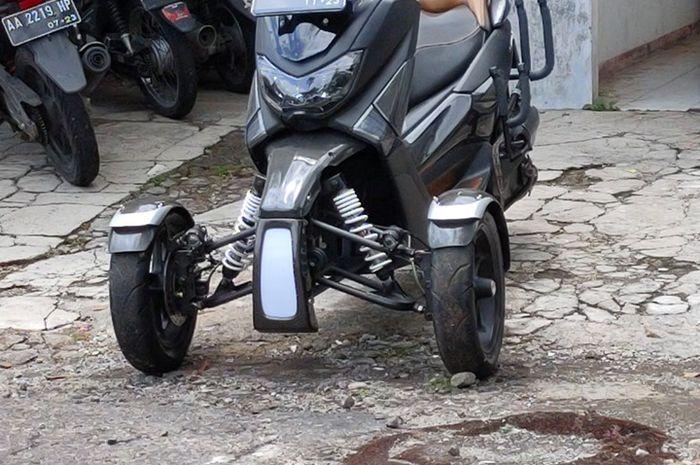 Yamaha NMAX milik Ipung asal Wonosobo, Jawa Tengah.