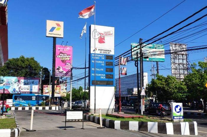 SPBU COCO 41.552.01 di Laksa Adisucipto  Yogyakarta