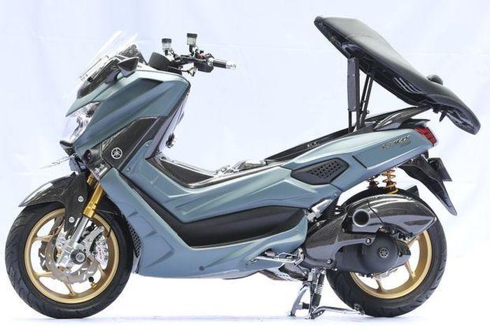 Yamaha NMAX canggih, beberapa part bisa gerak sendiri alias motorized