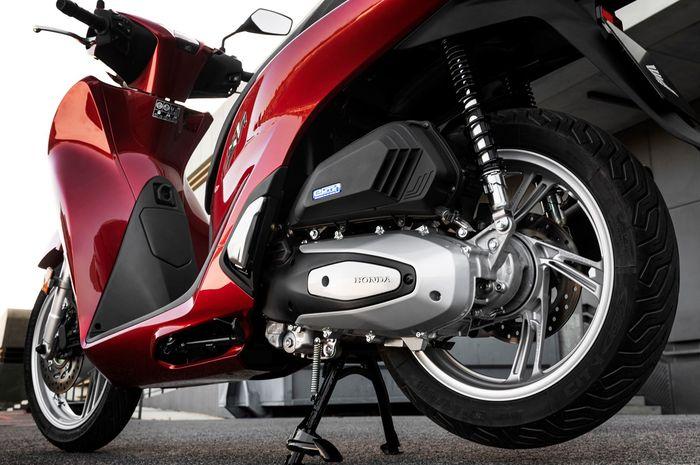 Ilustrasi mesin dan CVT Honda SH150i yang akan dipakai All New Honda PCX 150, All New Honda PCX 150 Bakal Lebih Bertenaga dari Yamaha All New NMAX?