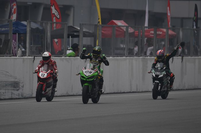 Ilustrasi balap Asia Production 250 (AP250) di Asia Road Racing Championship (ARRC)