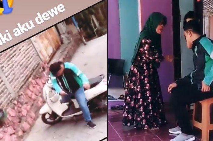 Sebuah video viral di media sosial yang berisi seorang ojek online dimaki dan dihina oleh calon mertuanya.