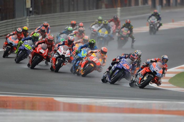Ilustrasi MotoGP Valencia.