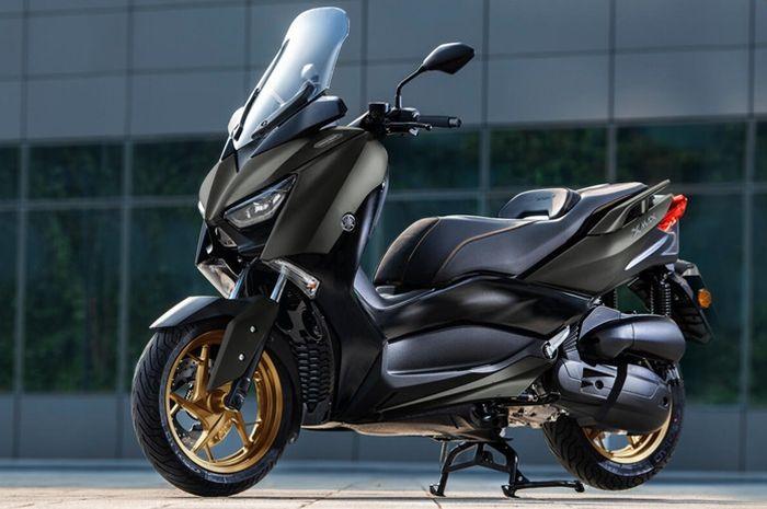 Yamaha XMAX 125 Tech MAX punya dimensi mirip kakaknya