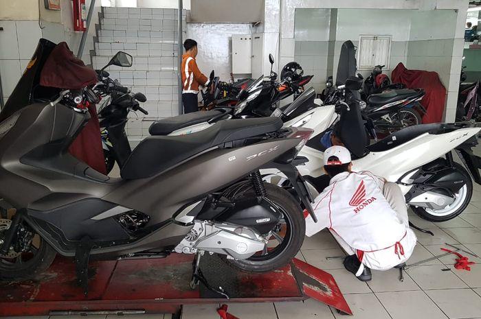 Mesin Honda PCX 150 yang bermasalah sudah ditangani sejak tahun lalu
