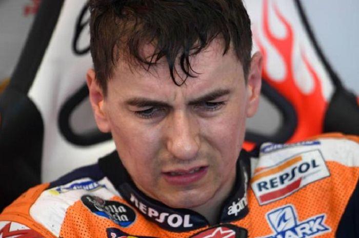 Jorge Lorenzo umumkan pensiun usai MotoGP Valencia 2019.