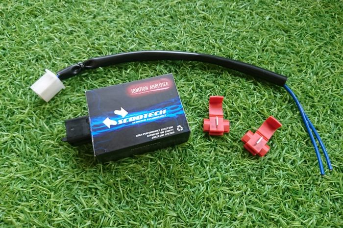 PT Scooter VIP luncurkan Ignition Amplifier bernama Scootech