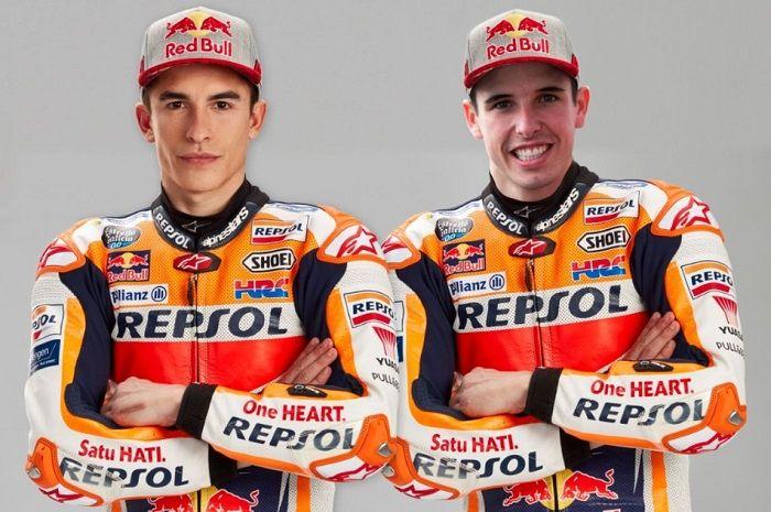 Marc Marquez dan Alex Marquez yang akan menggantikan posisi Jorge Lorenzo di Honda musim MotoGP 2020.