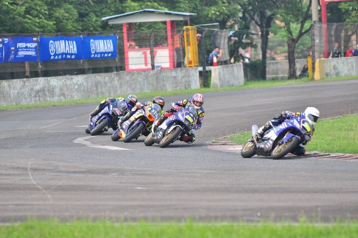 Race kelas 250 Pro Final Yamaha Sunday Race 2019