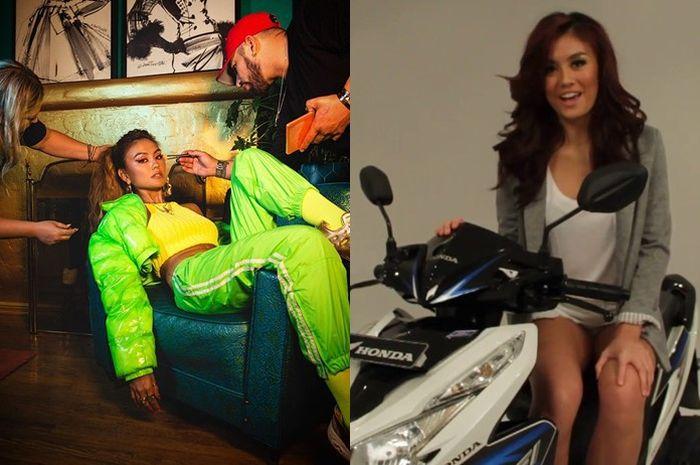 Agnez Mo yang jadi bintang iklan Honda Vario mengaku tidak berdarah Indonesia