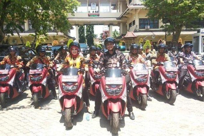 177 unit Yamaha NMAX jadi motor dinas di Kabupaten Karanganyar, Jawa Tengah.