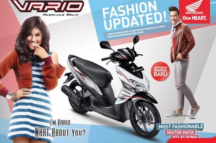 Agnes Mo bersama Daniel Mananta pernah jadi model iklan Honda Vario