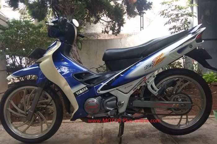 Yamaha 125Z tahun 2001 dijual.