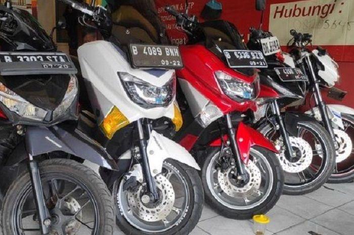 Motor bekas Yamaha NMAX di dealer.