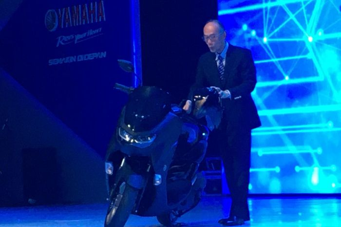 All New Yamaha NMAX Matte Black