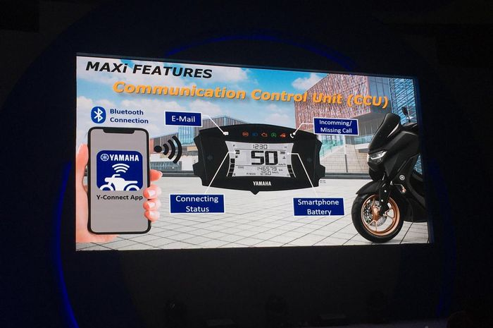 Fitur canggil All New Yamaha NMAX