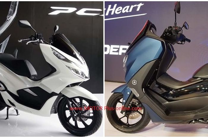 Honda PCX150 dan All New Yamaha NMAX 155.