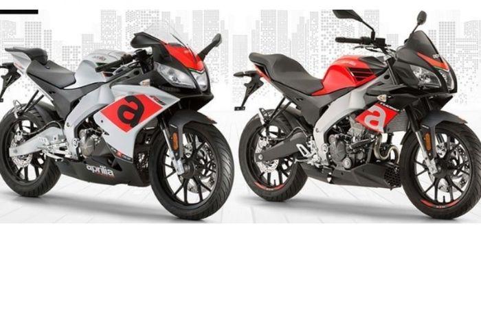 Aprilia RS150 dan Tuono 150
