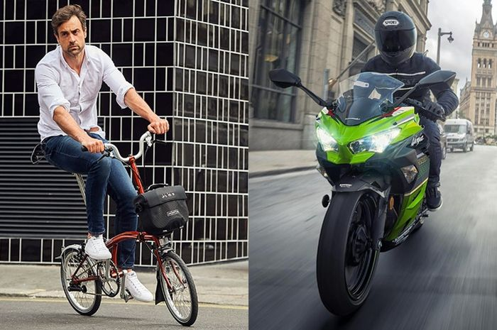 Harga sepeda Brompton setara Kawasaki Ninja 250 terbaru