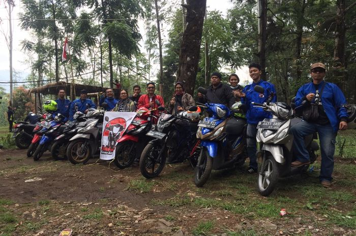 Addressia gelar fun riding ke Situ Patenggang