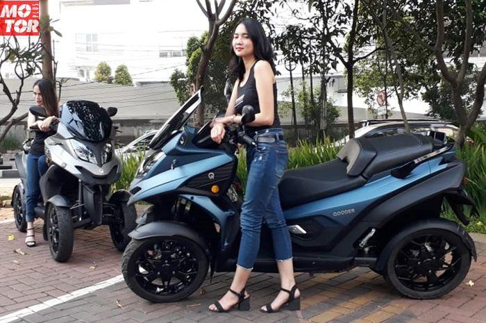 Motor viral Qooder resmi dijual di Indonesia