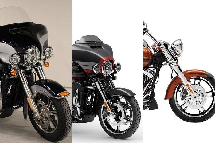 Tiga motor Harley-Davidson terkena recall sebanyak 12 ribu unit.