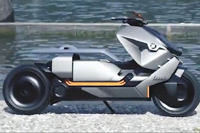 BMW Motorrad bikin motor listrik yang mirip Yamaha NMAX.