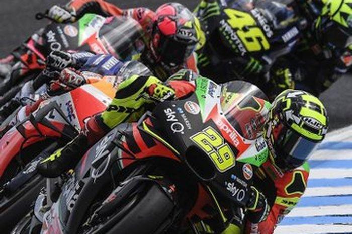 Masa depan Andrea Iannone bersama tim Aprilia pabrikan jadi pertanyaan gara-gara kedapat menggunakan obat doping di MotoGP Malaysia 2019 lalu