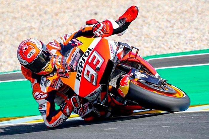 Marc Marquez jadi pembalap yang paling sering selamat dari kecelakaan