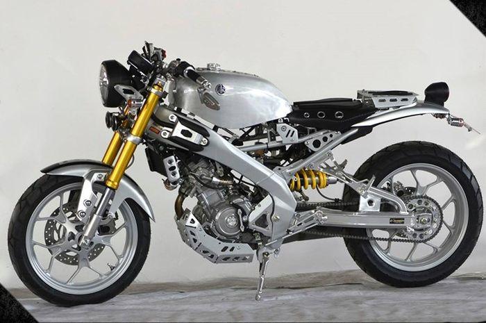Morin Racing garap Yamaha XSR155 bergaya cafe racer