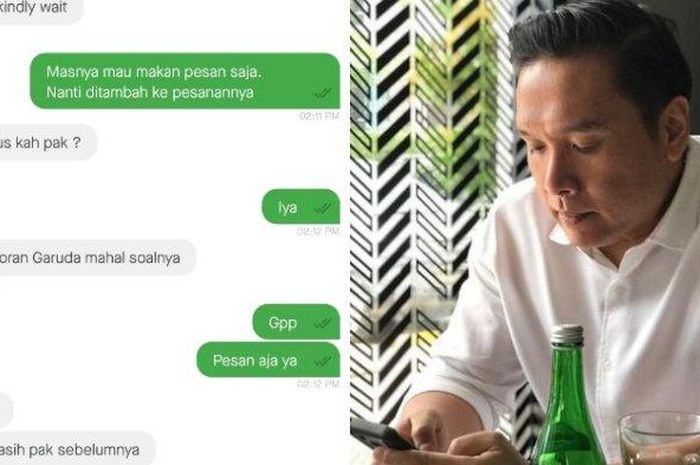 Delon Tio, traktir driver ojol demi mengurangi prank yang sering menimpa ojol