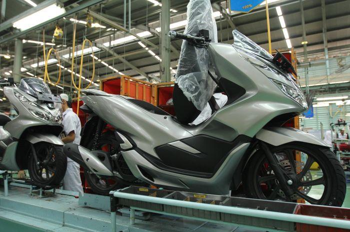 Honda PCX 150 lokal tembus pasar Amerika Selatan, yaitu Brazil.