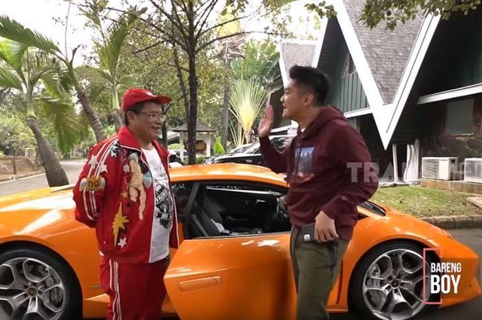 Hotman Paris bayar pajak tahunan Lamborghini Huracan miliknya setara 4 Yamaha NMAX ABS