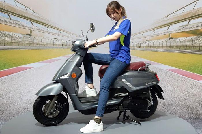 Suzuki Saluto 125 meluncur di Taiwan bulan Desember 2019.