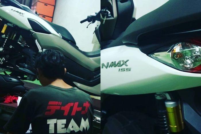Daytona sudah dapat unit Yamaha All New NMAX 2020 untuk modifikasi